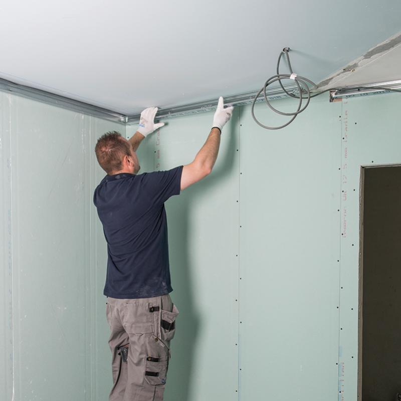 Metal Stud Plafond Stap 03